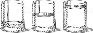 Glass clipart black and white 6