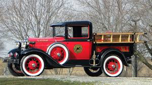 1930 Ford Model A Fire Truck | T36 | Indy 2016