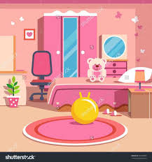 Bedroom Clipart by Bedroom Clipart Organized Room Pencil And In Color Bedroom