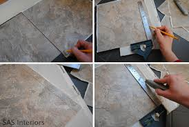 Tiling A Bathroom Floor Over Linoleum diy how to install groutable vinyl floor tile jenna burger