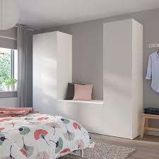 platsa kleiderschrank mit 8 türen weiß skatval hellgrau