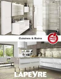 cuisine lapeyre bistro catalogue lapeyre pdf avec luminaire salle de bain lapeyre