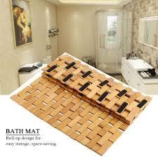 duschvorleger greennmodern rutschfeste badematte aus holz