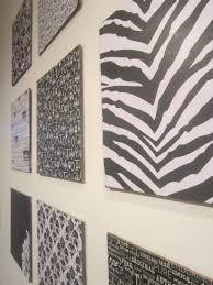 Scrapbook Paper Wall Decoration