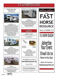 100 Bluegrass Truck And Trailer The Fast Horse Resource April 2012 By The Horse Resource Issuu