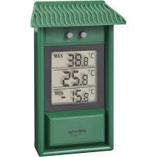 thermometre maxima minima exterieur thermomètre intérieur ou extérieur inovalley 312elv leroy merlin