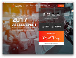 Eventia Is A Resourceful And Responsive WordPress Conference Event Website Theme Fantastic Tool For Creating Feature Rich Websites