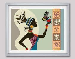 African American Art Work Queen Shop By IQstudio
