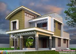 100 Image Of Modern House 2375 Sqft 4 Bedroom Modern House Plan Kerala Home Design