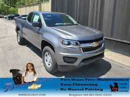 100 Used Colorado Trucks For Sale New Vehicles For In Bridgman Dominion Chevrolet