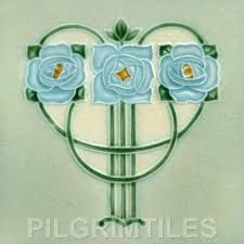 376 arts and crafts tiles from pilgrim tiles