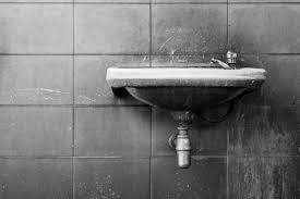 how to remove chemical stains on toilet tiles
