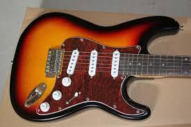 Free Shipping Custom Shop Artist Series John Mayer Stratocaster Guitar 3TS 15 9