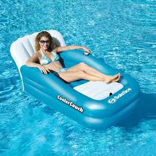 Inflatable Sofa Walmart Canada by Swimline Coolercouch Oversized Inflatable Pool Lounger Walmart