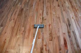 Buffing Hardwood Floors Youtube by Remodelaholic How To Finish Solid Wood Flooring Step By Step