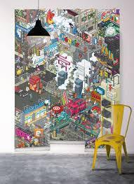 frise murale cuisine frise murale york avec cuisine papier peint york manhattan