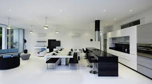 cuisine et blanche cuisine noir et blanc stunning cuisine noir et blanc on