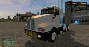 KW T600 OVERSIZE LOAD AND LED LIGHTS V2 Trucks - FS 2017, FS 17 Mod ...