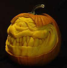 Largest Pumpkin Ever Grown 2015 by This Guy Makes The Scariest Pumpkin Carvings Ever