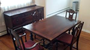 1940s Dining Room Furniture 2 I Have A Vintage Solid Mahogany