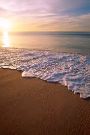 800x1200 Wallpaper Mexico City California Beach Wave Foam Sand Evening