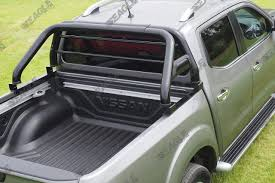 100 Truck Roll Bars Mitsubishi L200 Black Bar