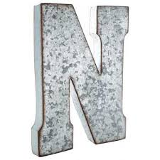 Hobby Lobby Wall Decor Letters by Galvanized Metal Letter Wall Decor N Hobby Lobby 138550