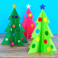 Christmas Tree Cutouts Printable Our Free Template Makes Prep Time For This Fun Craft A Breeze Too Stencils