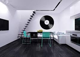 Vinyl Record Musical Decor Recording Music Studio Wall Decal Art Sticker Home Modern Stylish Interior