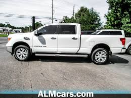 2017 Used Nissan Titan XD 4x4 Diesel Crew Cab SL At Atlanta Luxury ...