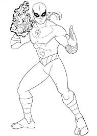 Ultimate Spider Man Coloring Pages 13 Kids