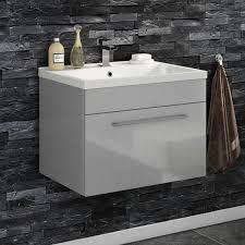 Kleankin Freestanding Bathroom Cabinet Wood Under Sink Unit Cupboard