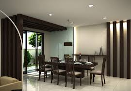 Wonderful Contemporary Dining Room Design Modern Dining Rooms