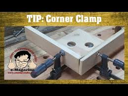 Woodworking Quick Tip 28 Homemade Corner Clamp For Glue Ups