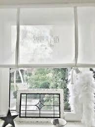 salle de bain raffrollo shabby gardine bad vintage 90 110