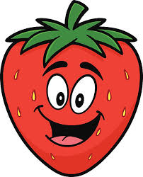 Smile clipart strawberry 6