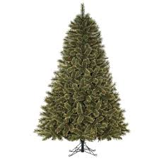 75ft Pre Lit Cashmere Mixed Pine Artificial Christmas Tree With Multi Colored Lights