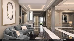 100 Interior Villa Design VILLA ENTRANCE Companies Dubai UAE Delprima