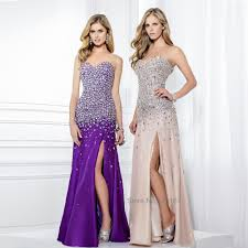pink and purple sparkly prom dress best dressed