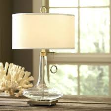 Fillable Lamp Base Ideas by Table Lamp Glass Table Lamp Ideas Fillable Pottery Barn