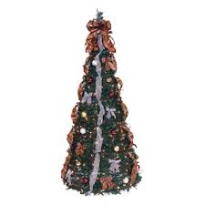Black Pre Lit Pop Up Christmas Tree by Pre Lit Christmas Trees You U0027ll Love Wayfair