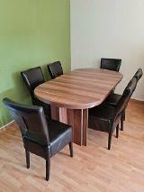 esstisch ausziehbar 160 320cm 6 stühle aus kunst