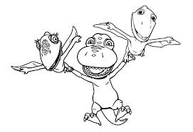 Dinosaur Train Coloring Page DinoKidsorg View Larger