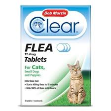 flea treatment for cats bob martin flea tablets for cats and small 11 kg 3