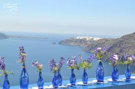 DIY Santorini Wedding Decor In Blue Purple