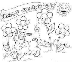 Spring Coloring Pages Printable Free Online