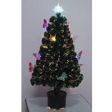 Ebay Christmas Tree Decorations by Led Fibre Optic Christmas Tree Various Design Lightings Pre Lit