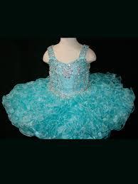 tank strap ruffled pageant dress little rosie br1083