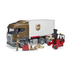 100 Ups Truck Toy Tosyencom Bruder S 3581 Scania RSeries UPS Logistics Truck