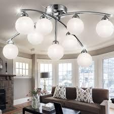 ladenmobiliar deko led design decken leuchte chrom schlaf